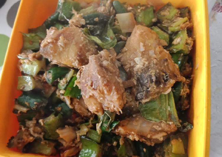 Ikan Mangut masak Kecipir