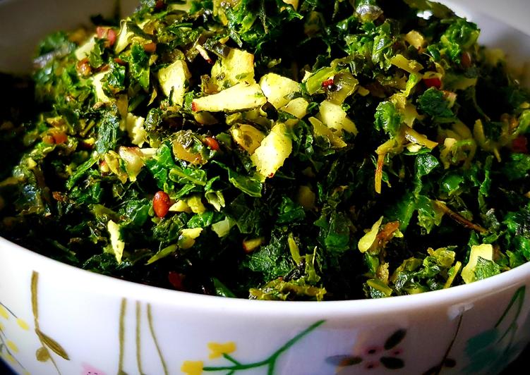 Steps to Prepare Any-night-of-the-week Kale Stir Fry