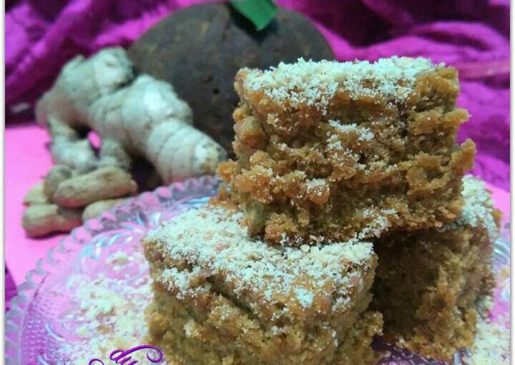 Cake jahe,gula merah,kacang nyamanna karaeng 😁