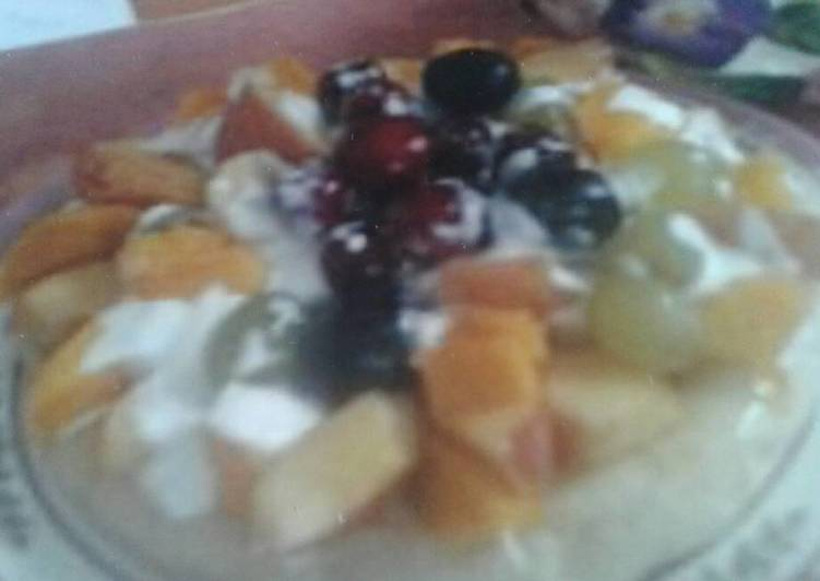 How to Prepare Super Quick Homemade Sweet Fruit Pizza