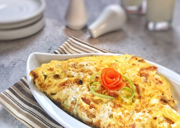 Resep Creamy Omelette ala Hotel Top