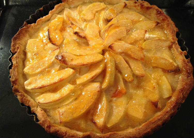 Easiest Way to Make Homemade Apple Custard Tart