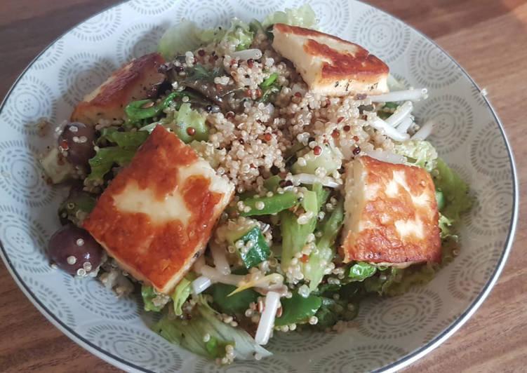 Façon la plus simple Faire Délicieux Salade d'été au sésame