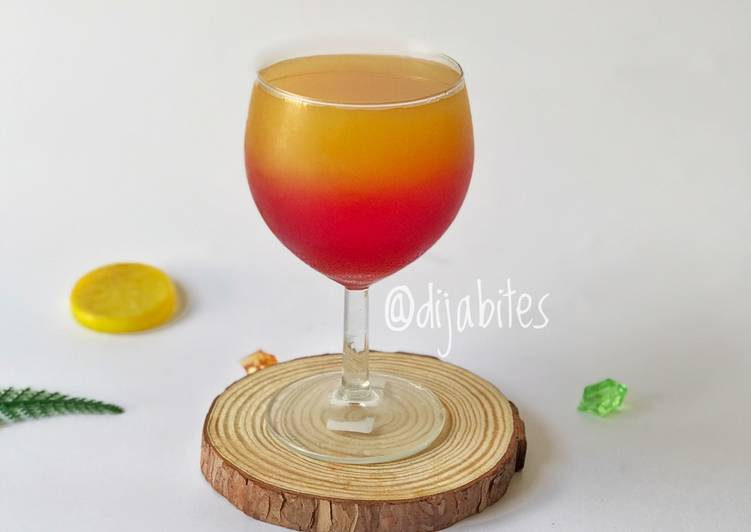 Mango grenadine punch