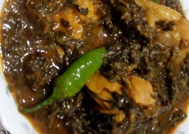5 Minute Steps to Make Cooking Palak Chicken