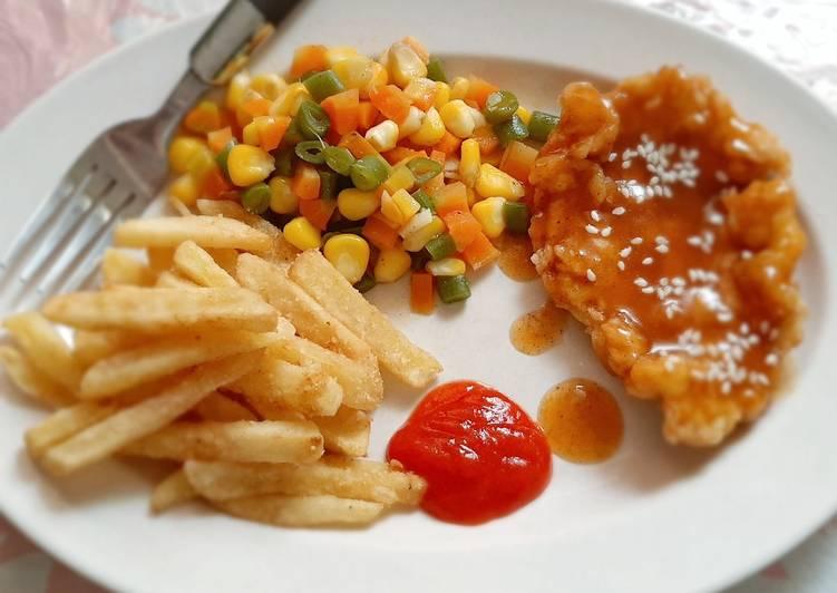 Chicken Steak Crispy 🍗