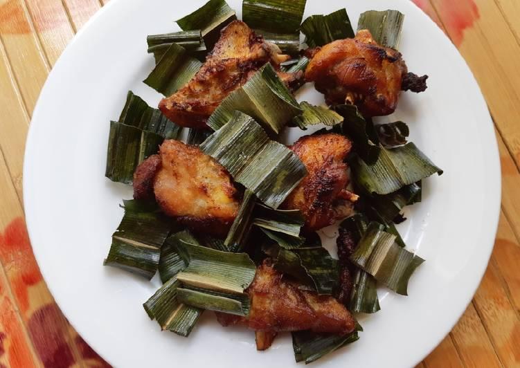 Ayam tangkap daun pandan
