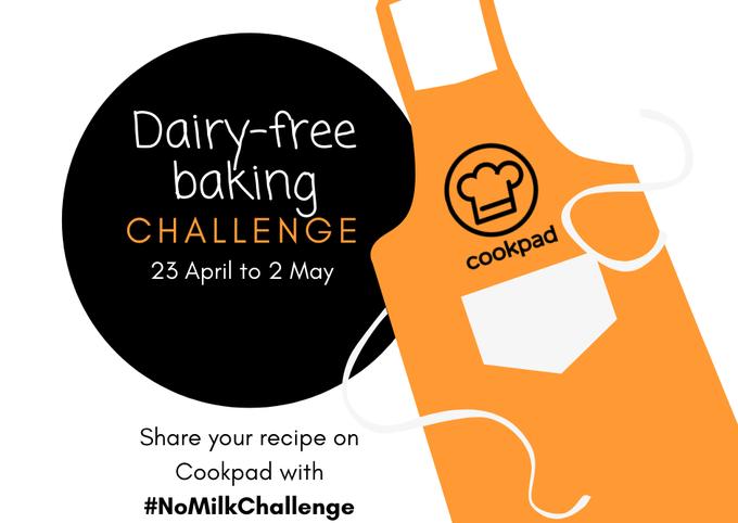 Dairy-free baking challenge