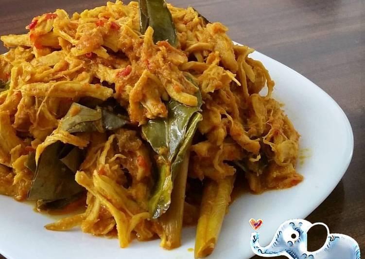 resep ayam suwir bumbu kuning oleh linfangfei cookpad Resepi Ikan Susu Masak Kari Enak dan Mudah