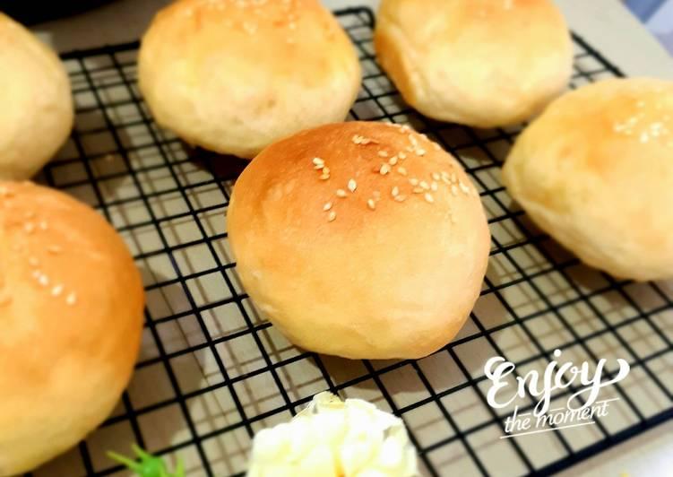 Roti Burger Homemade