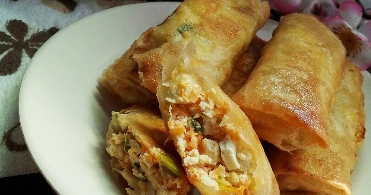 Resep Lumpia Tahu Udang Wortel Seafoodfestival Oleh Ayu Saraswati E P Cookpad
