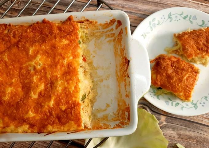 Cheesy Cabbage Casserole