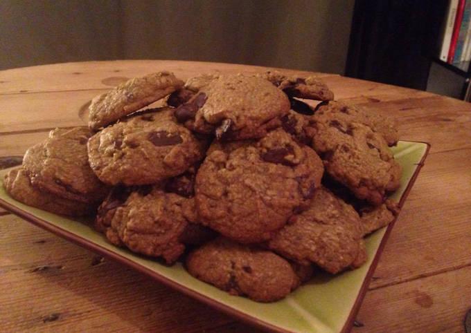 Cookies moelleux aux notes de châtaigne (sans gluten)