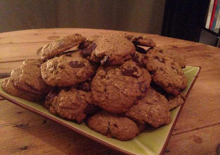 Recette De Cookies moelleux aux notes de châtaigne (sans gluten)