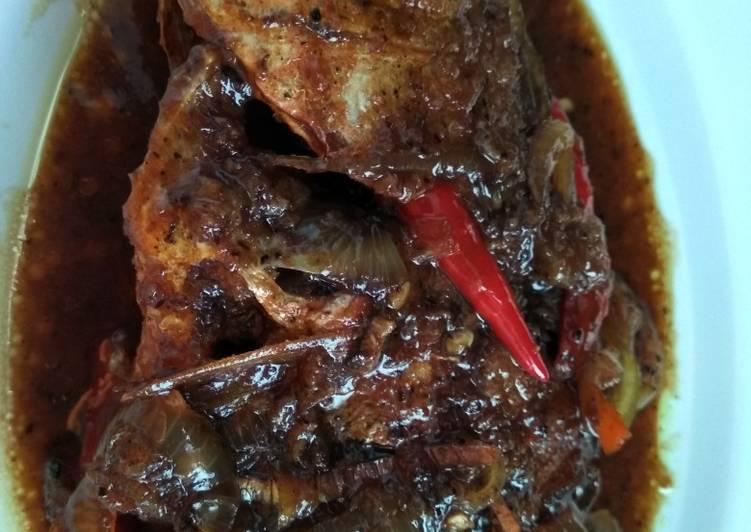 Resep Kakap merah lada hitam Yang Populer Bikin Nagih