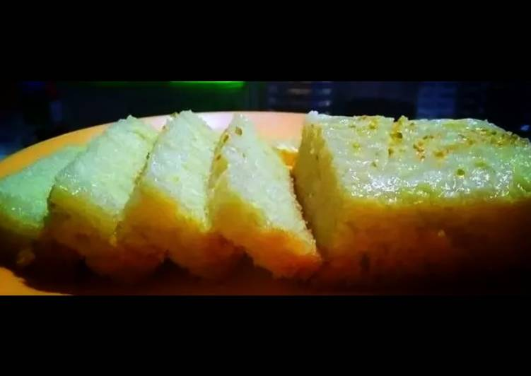 Steps to Prepare Speedy Lemon tea cake