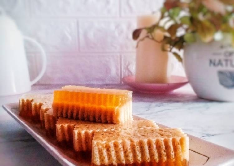 Agar-agar gudir gula merah - resepipouler.com