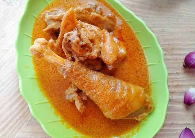 Gulai / Kalio Ayam Kampung