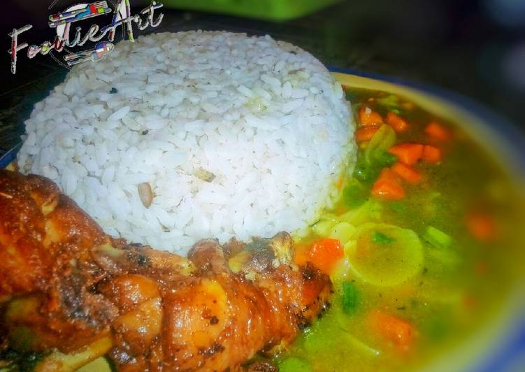 Easiest Way to Prepare Quick Curry vegetable sauce #EnuguState