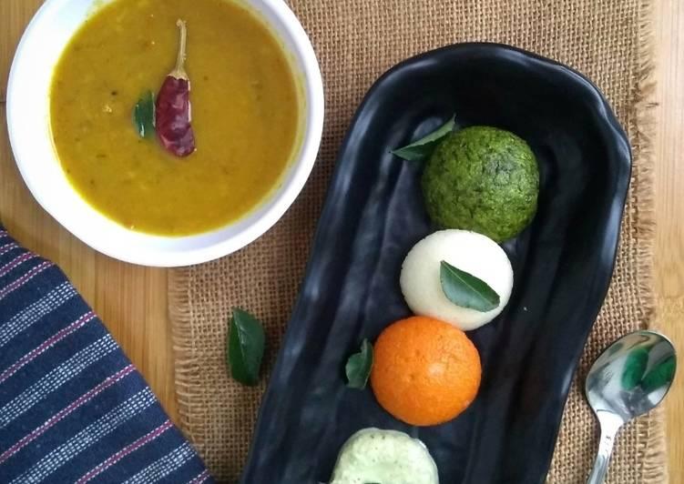 Triclor vegetable sooji appe