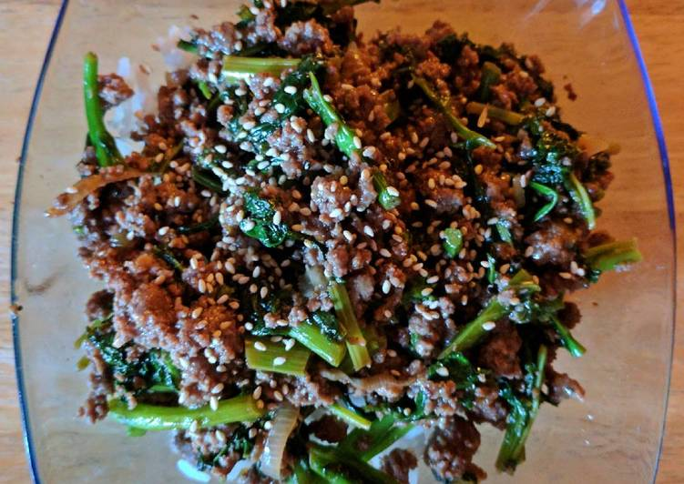 Beef and Greens