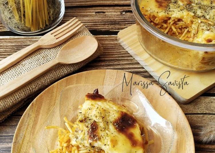130. Spaghetti Brulee Panggang