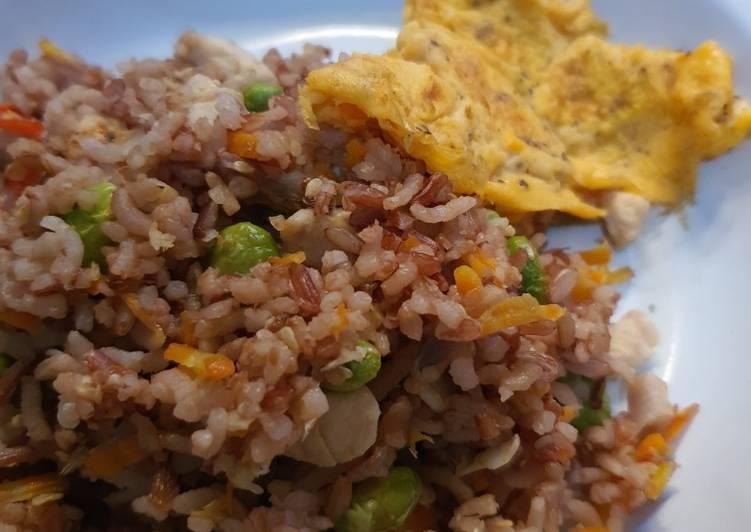 Nasi goreng diet no minyak