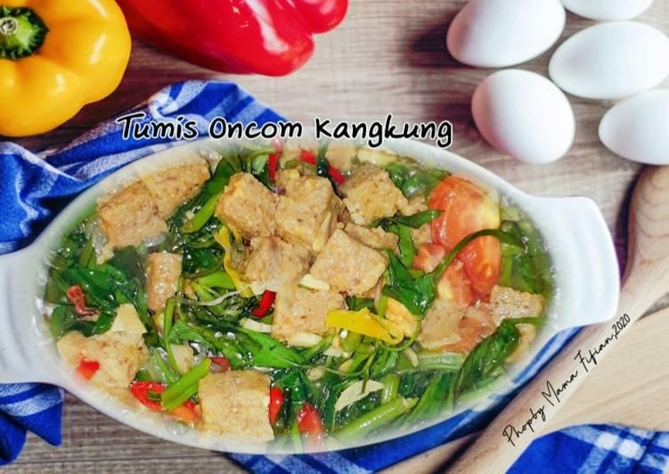 Tumis Kangkung Oncom