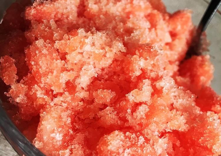 Granité de pastèque