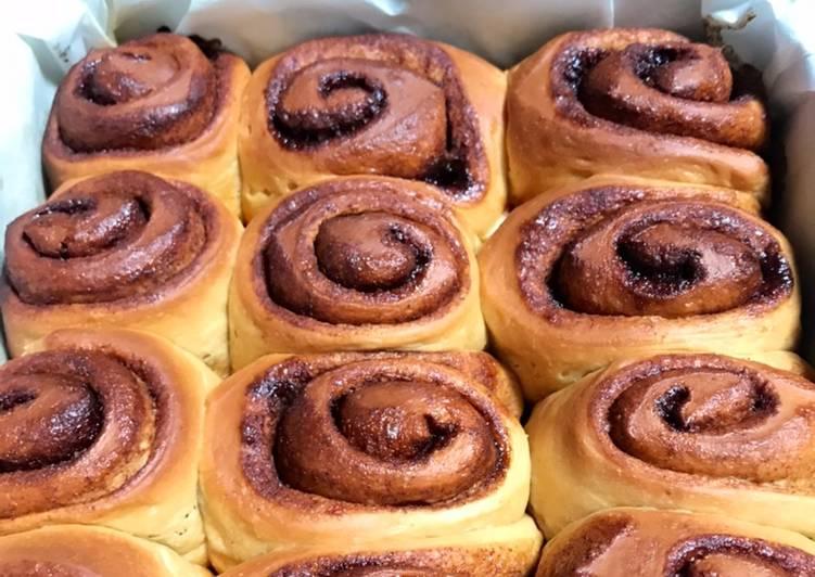 Roti Gulung Kayu Manis - Cinnamon Rolls Bread