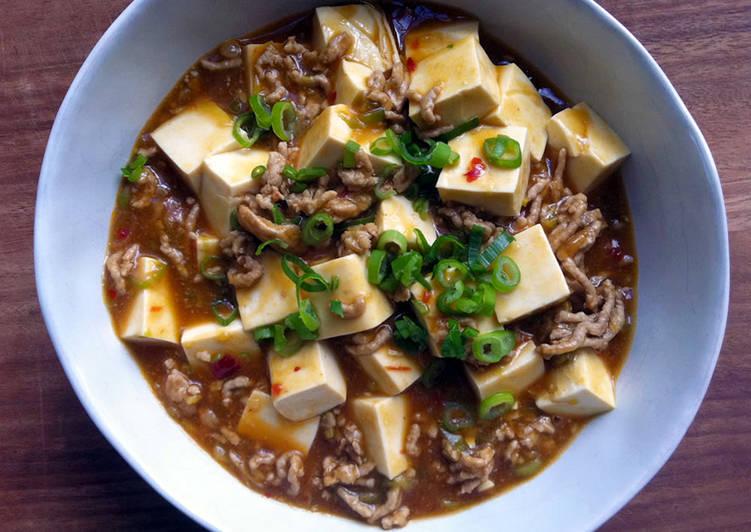 Simple Way to Make Favorite Mabo Dofu (Tofu) Japanese Style