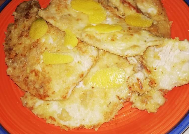 Ricetta Petti di pollo al limone