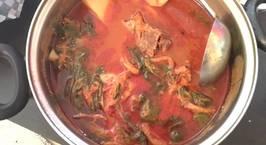Hình ảnh món Canh xương heo khoai tây Hàn quốc (감자탕)