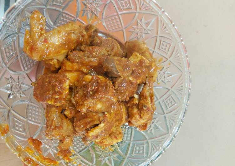 Resep Ayam Rica Kemangi Sederhana