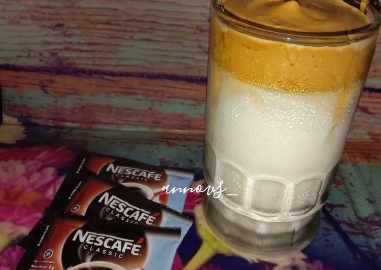 Resep Dalgona Coffee Nescafe Sachet