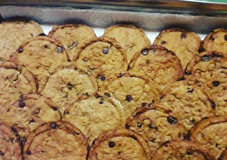 Biscotti Crunchy semintegrali (senza uova e latte)