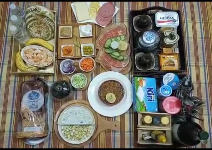 Recipe: Appetizing Arabic breakfast||Authentic arabic recipe||
