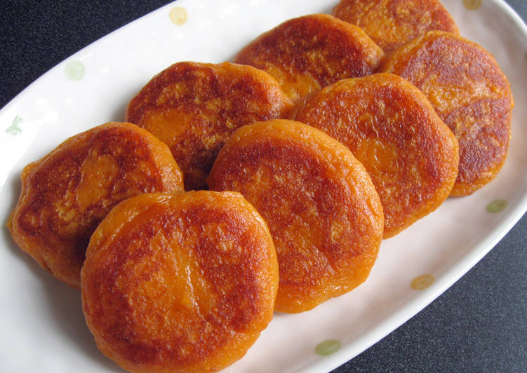 Easiest Way to Make Any-night-of-the-week Sweet Potato Mochi