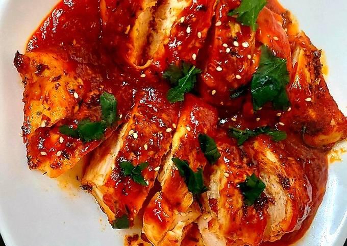 My Spicy Sriacha Honey Chicken 😃#Mainmeal