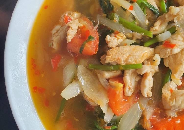 Cah Kangkung Ayam