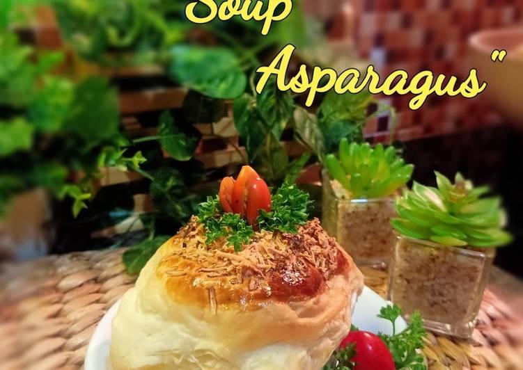 Zoppa soup asparagus