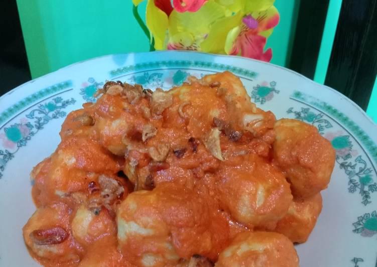 Resep Bakso Ayam Bumbu Balado Yang Populer Pasti Sedap