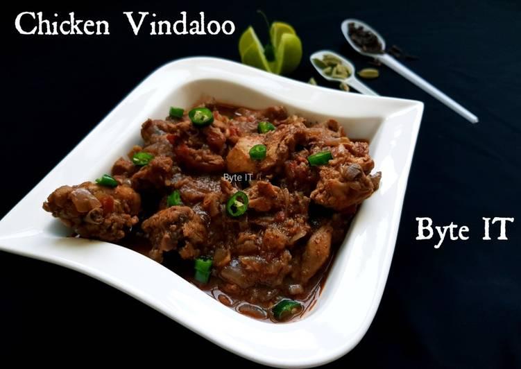 Recipe of Quick Chicken vindaloo