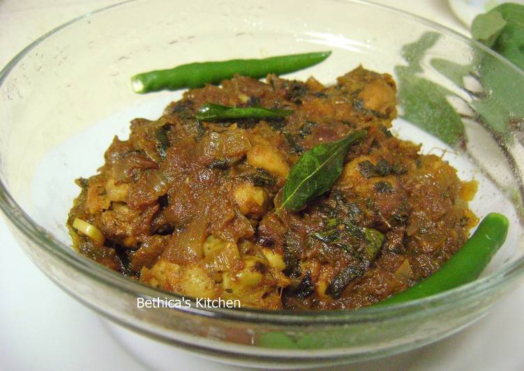 Foods That Can Make You Happy Gongura Chicken - Andhra Style