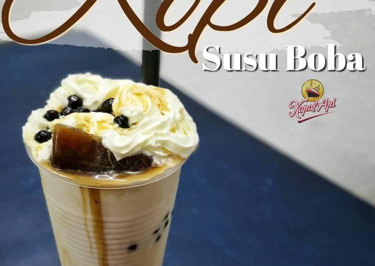 Kopi Susu Boba - resepipouler.com