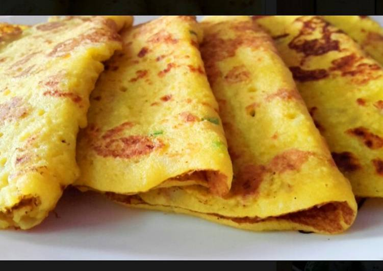 Moon Dal Pancakes