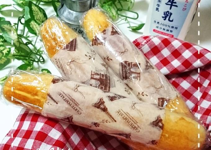 Butter sugar bread (tanpa telur tanpa margarine)