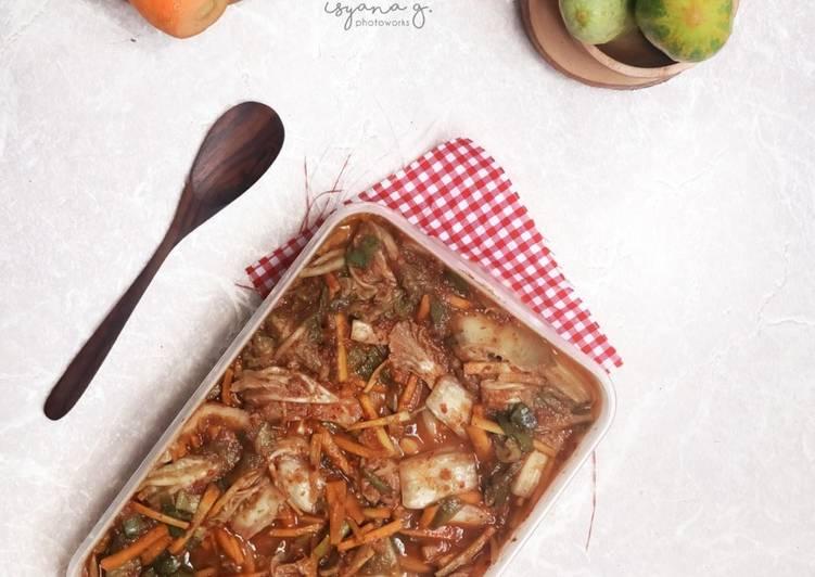 Mak Kimchi (Easy Kimchi)