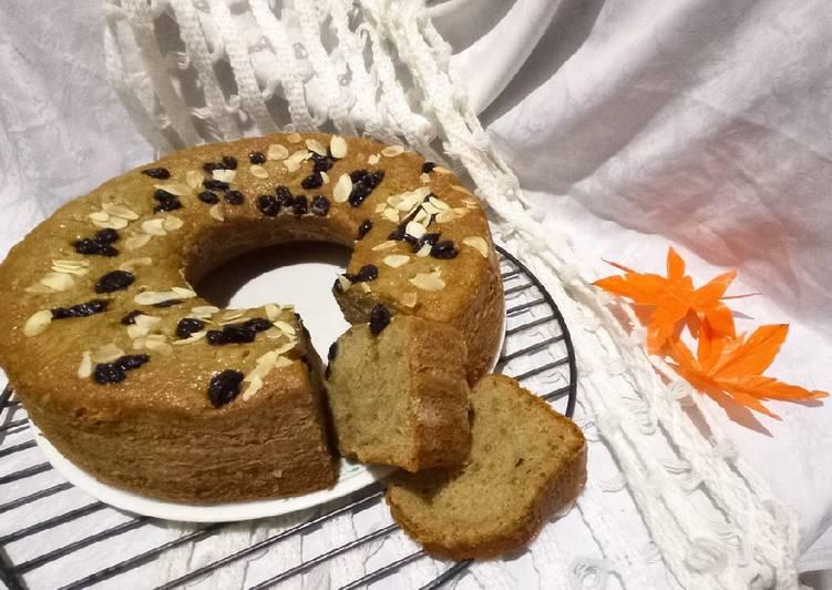 BANANA CAKE WITH CINNAMON FLAVOR (Bolu Pisang Kayu Manis)