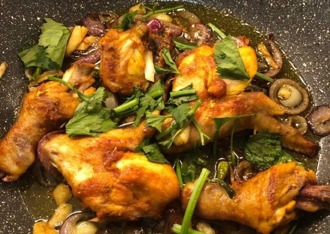 Ayam goreng bawang simple